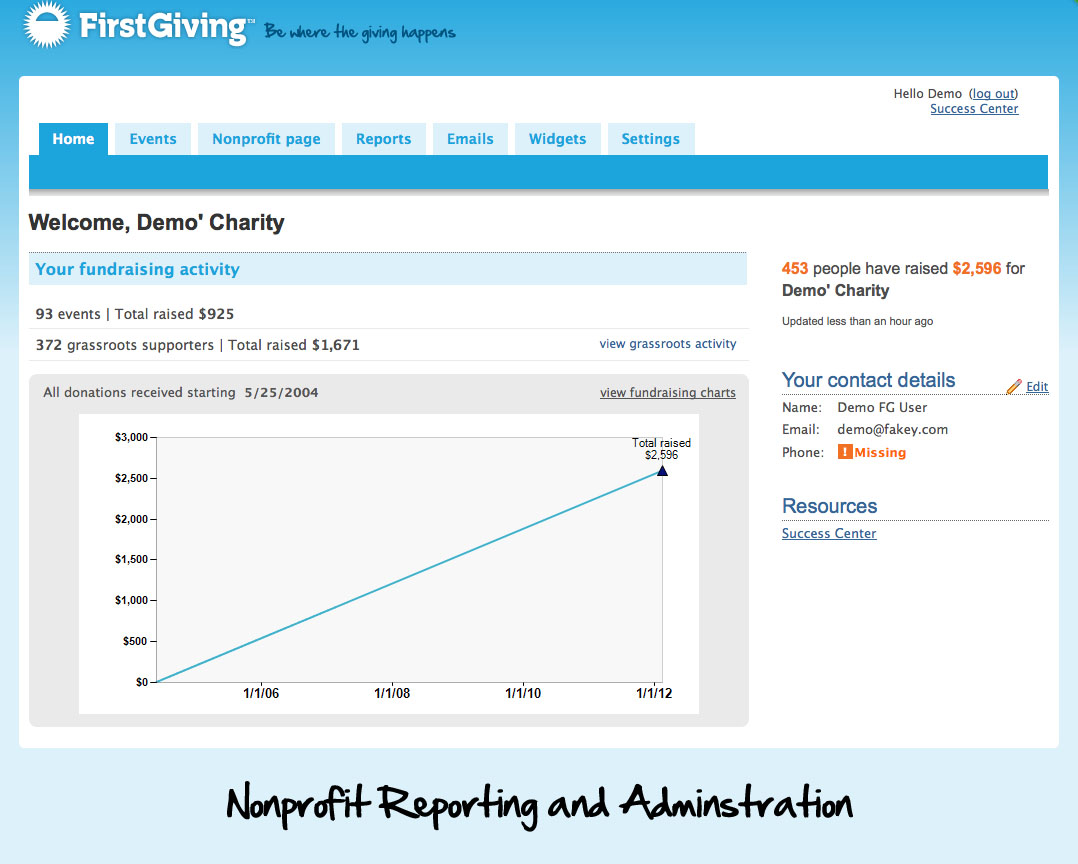 Reporting and Administration