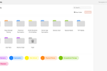 CoSchedule screenshot: Add final files & resources to the Asset Organizer to build an organized deliverables library. Before taking on anything new, see if there's an existing project file that could be used instead to avoid doing the work twice.