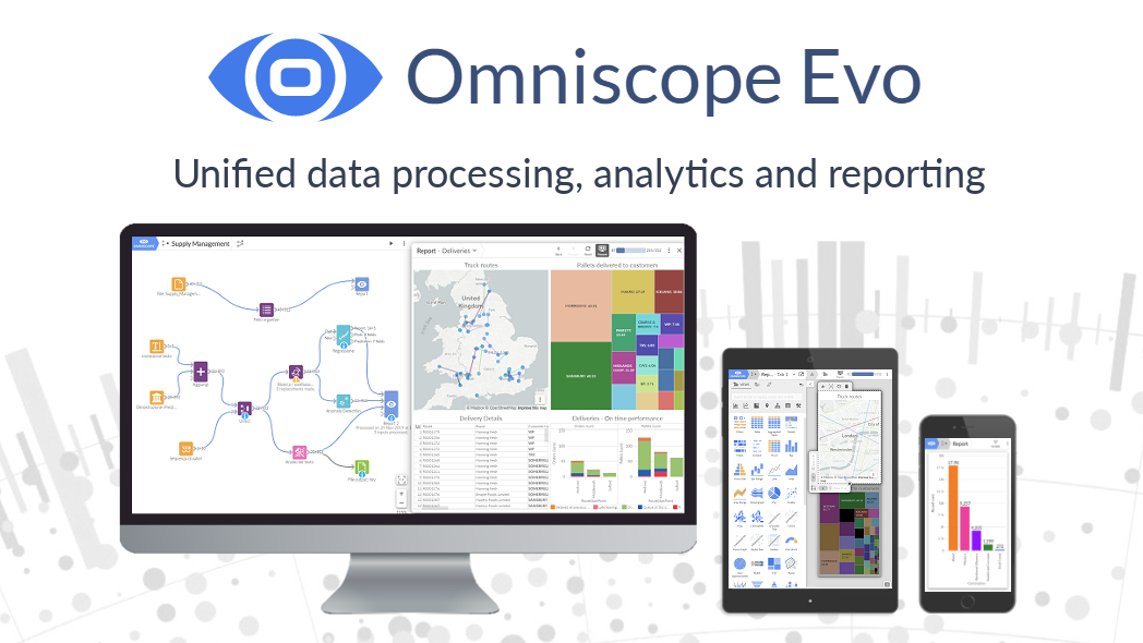 Omniscope Software - Unified data processing, analytics, reporting : Omniscope Evo, All-In-One BI tool and Data Analytics platform.