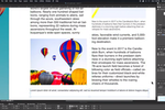 Captura de pantalla de QuarkXPress: QuarkXPress text box