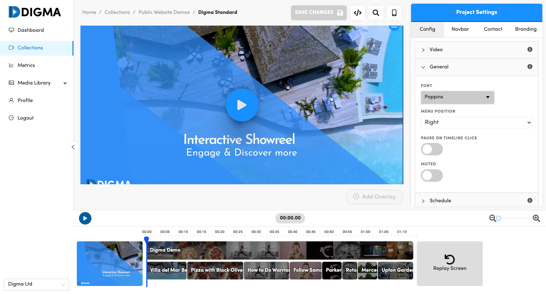 Digma Interactive Video Platform