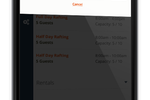 The Flybook screenshot: A mobile-friendly online reservation widget helps to maximize conversion rates, while The Flybook also provides guests with optimized dashboards managing large groups and collecting payments