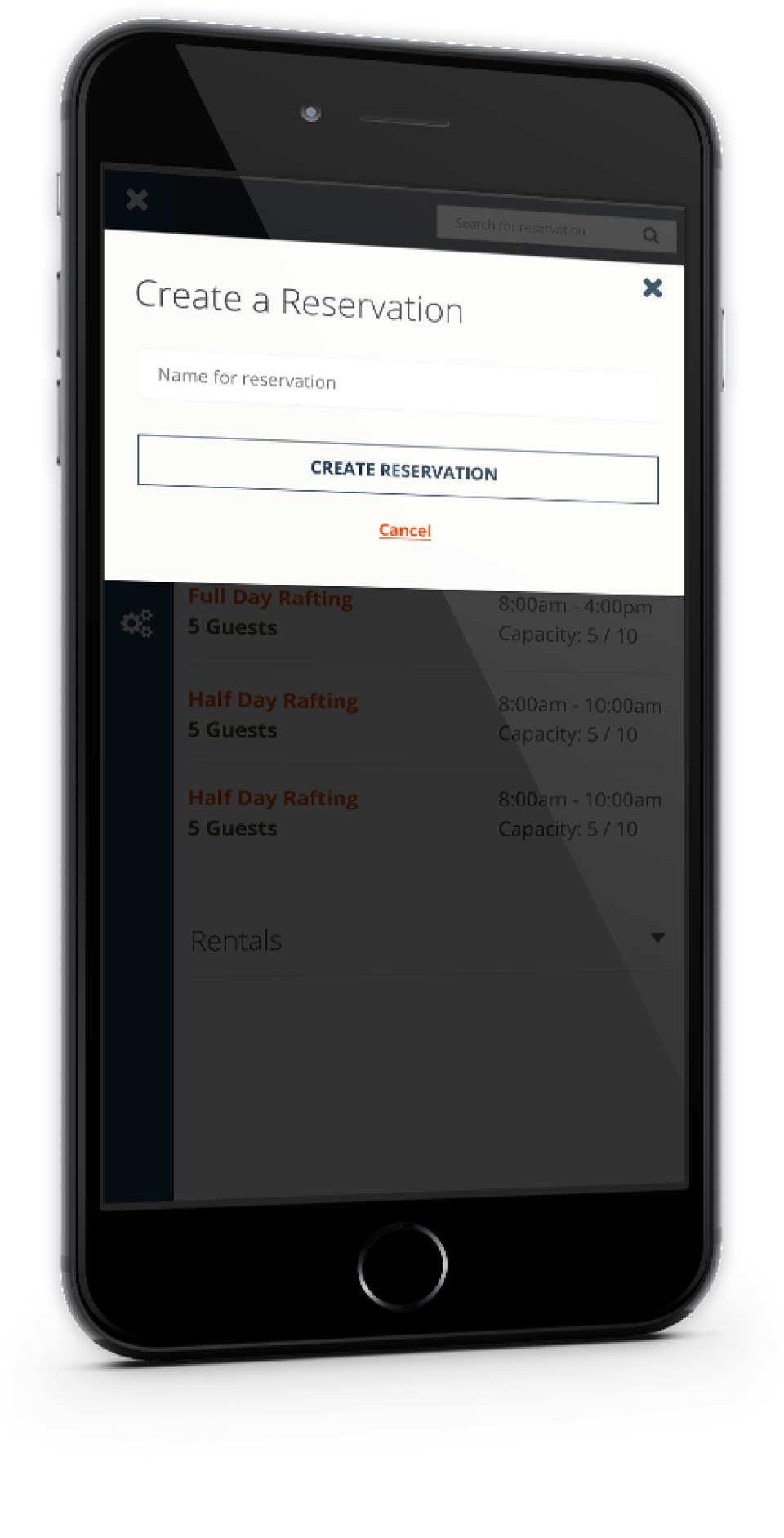 A mobile-friendly online reservation widget helps to maximize conversion rates, while The Flybook also provides guests with optimized dashboards managing large groups and collecting payments