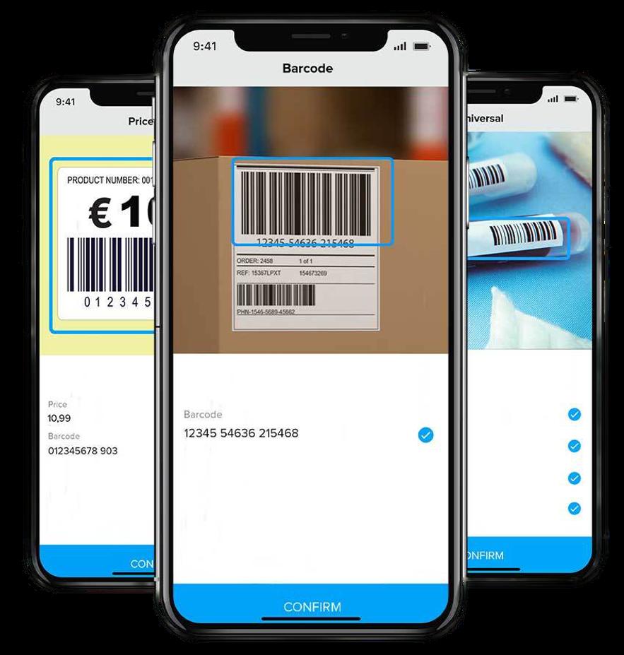 Anyline Software - Scan Barcodes