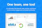 FinancialForce PSA screenshot: Social project management