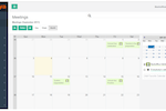 Pappaya screenshot: Use the calendar to manage events and meetings