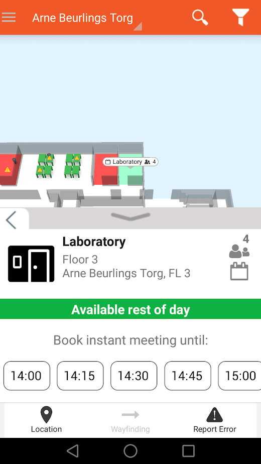 Flowscape room location
