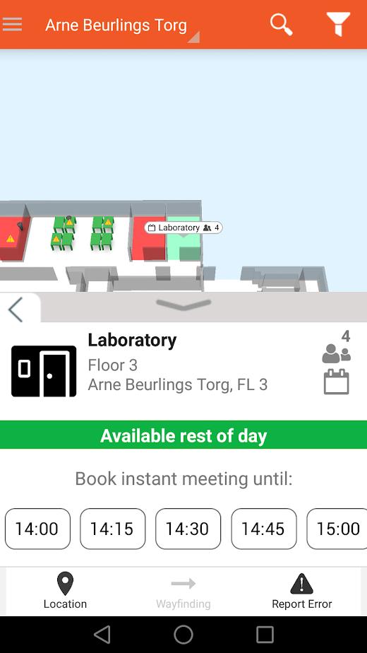 Flowscape Software - Flowscape room location