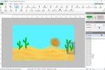 DrawPad screenshot: DrawPad create digital paintings with a variety of freehand drawing tools
