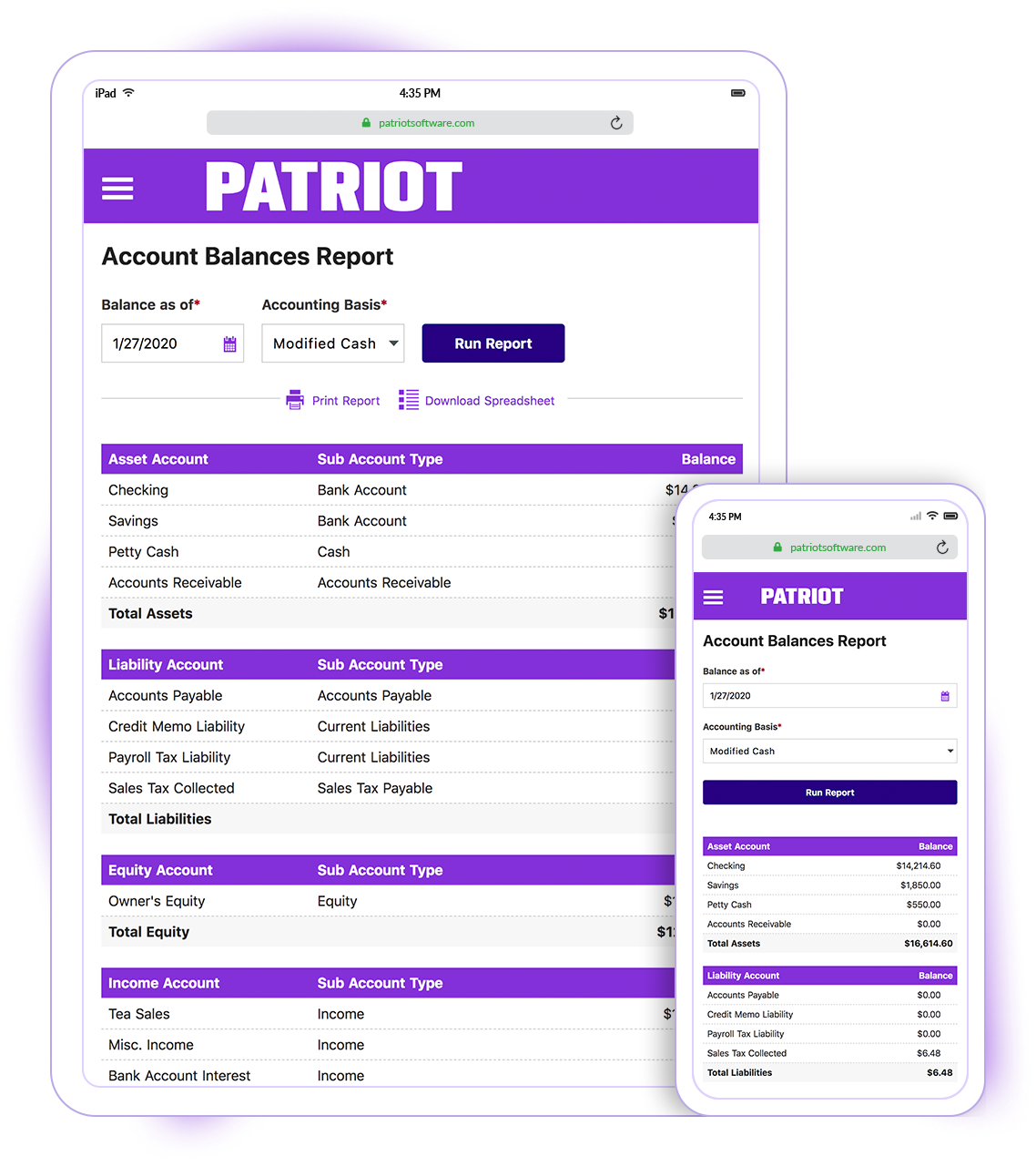 Patriot Accounting Logiciel - 4