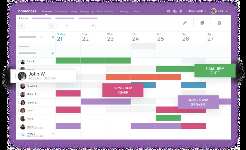 Free Employee Scheduling