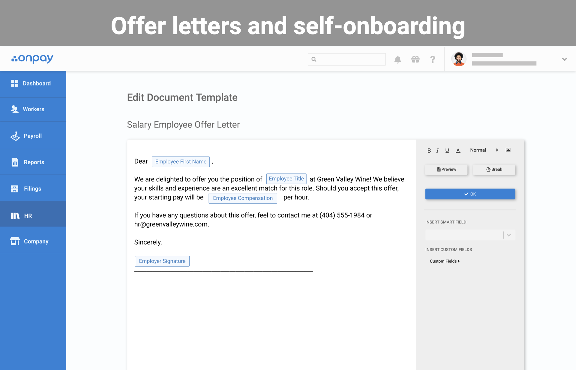 Automated onboarding