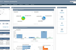 UltraShipTMS screenshot: Get an overview of the business via the executive dashboard