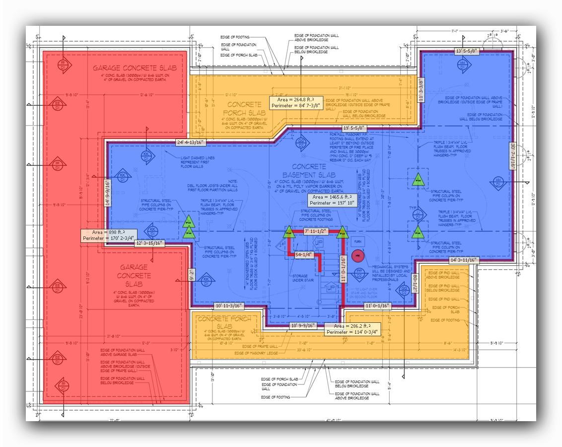 Active Takeoff floor plan