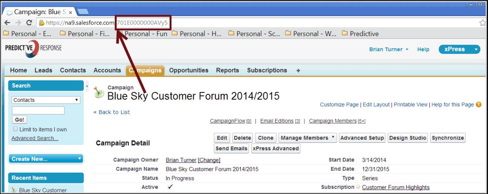 Predictive Response managing campaigns