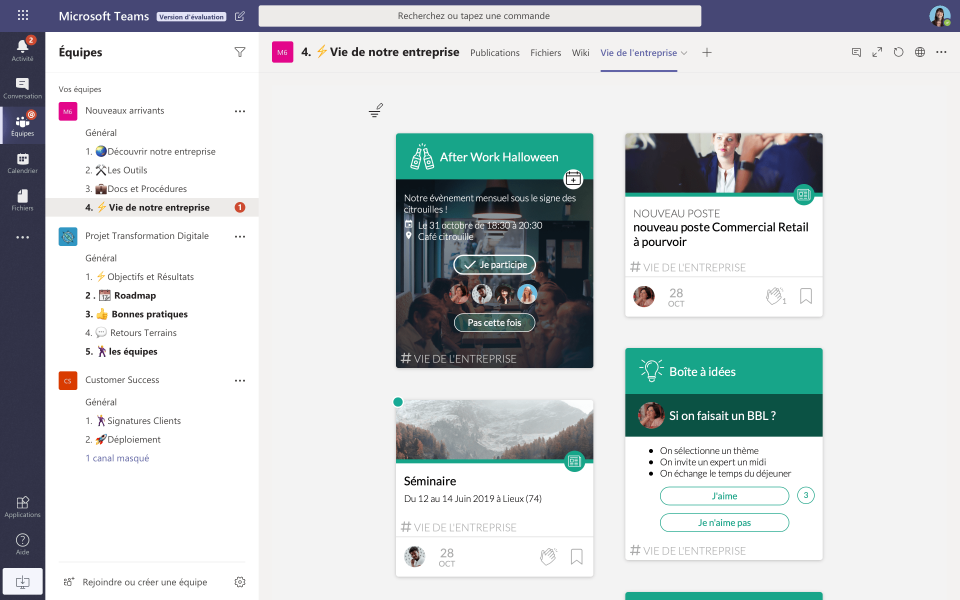 Cocoom integration with Microsoft Teams