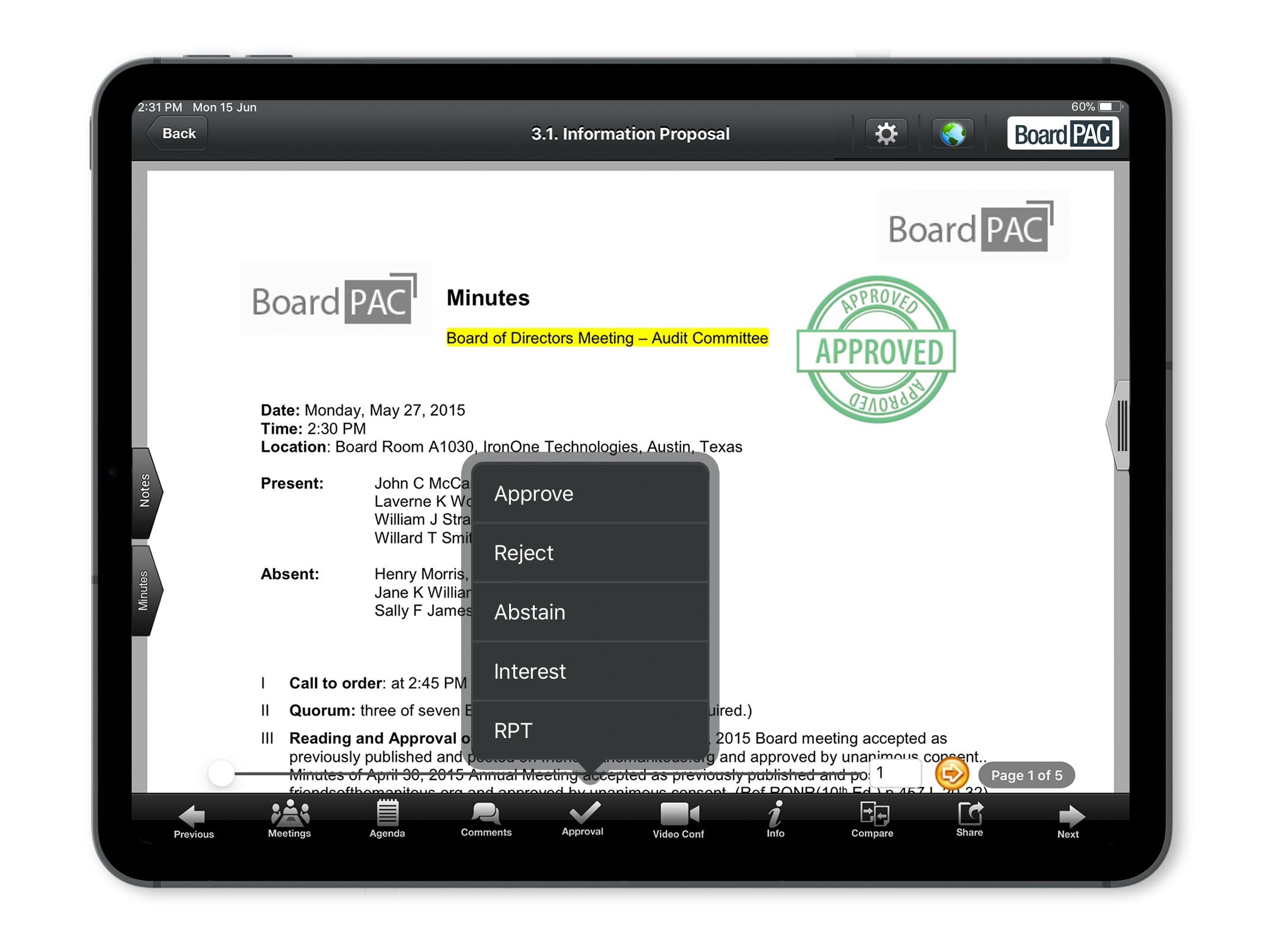BoardPAC Software - 3
