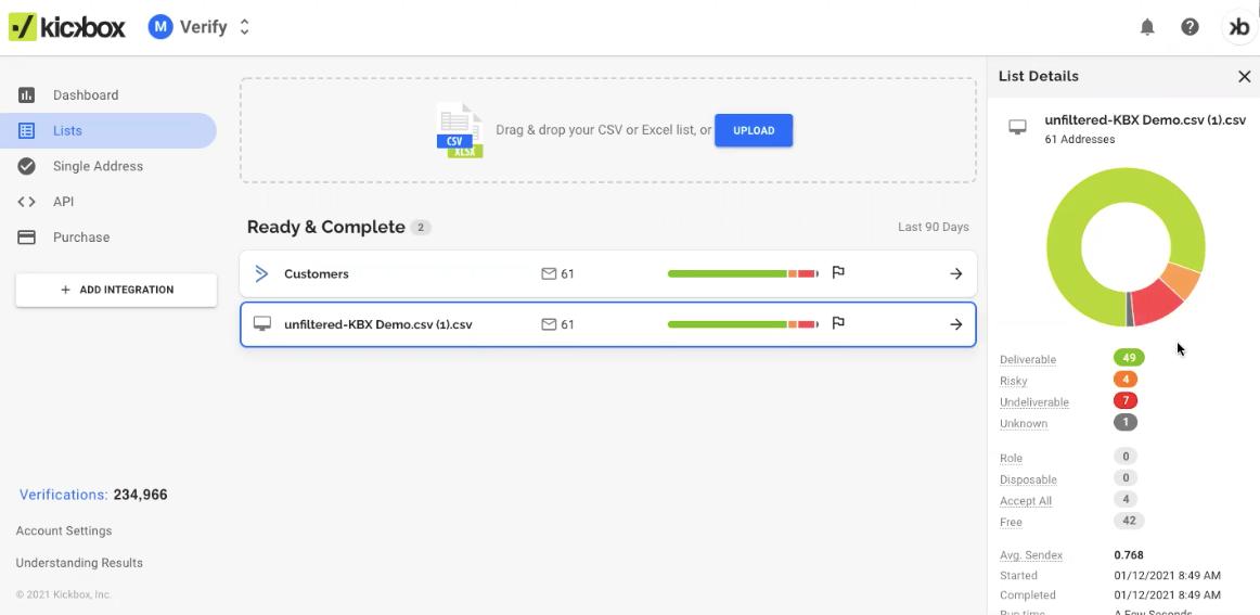 Kickbox Email Verification Software - 4