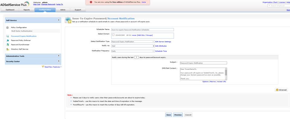 ManageEngine ADSelfService Plus Logiciel - 4
