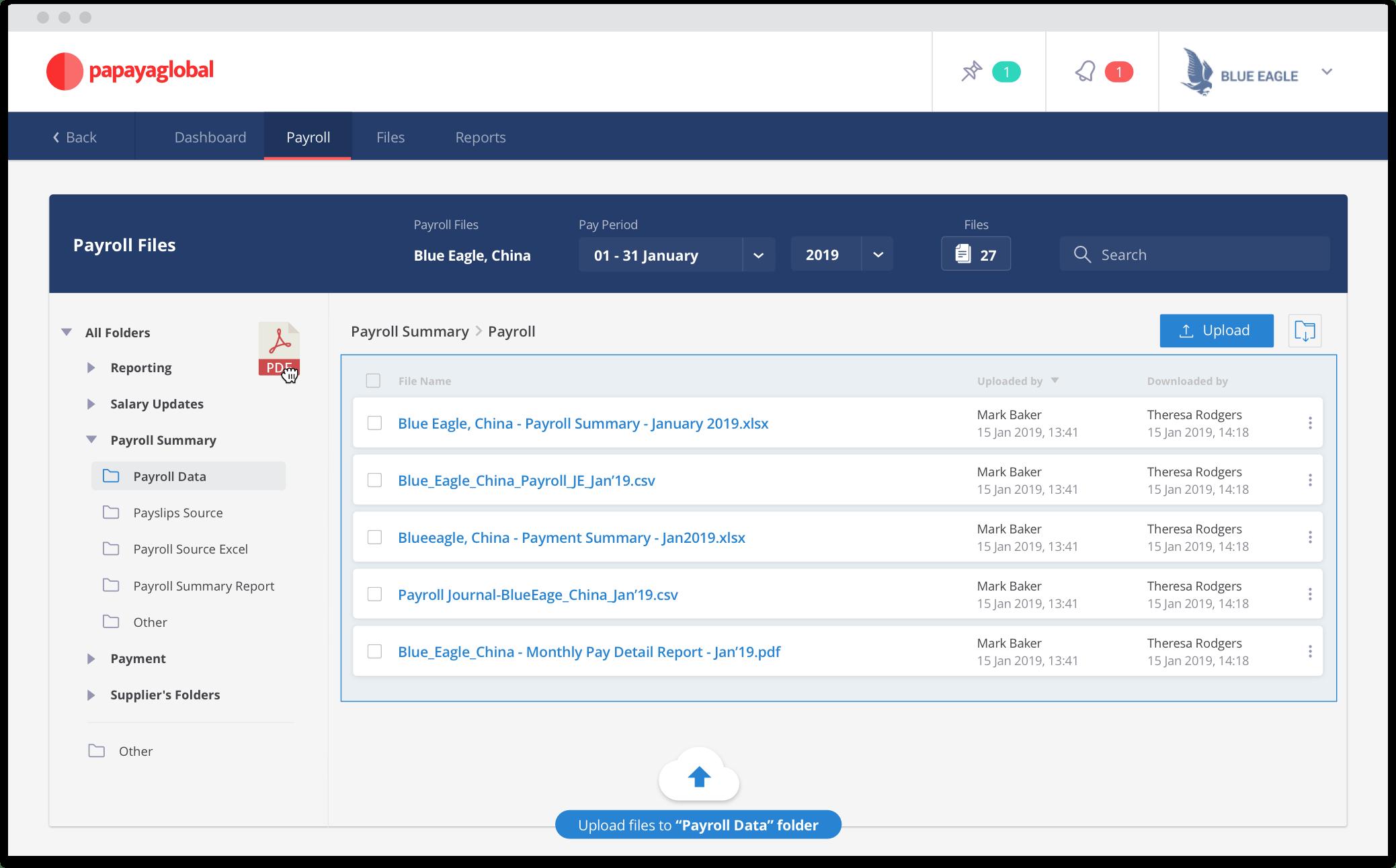 Papaya Global - Payroll Data