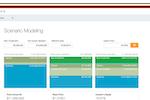Capture d'écran pour Captable.io : Captable.io scenario modeling