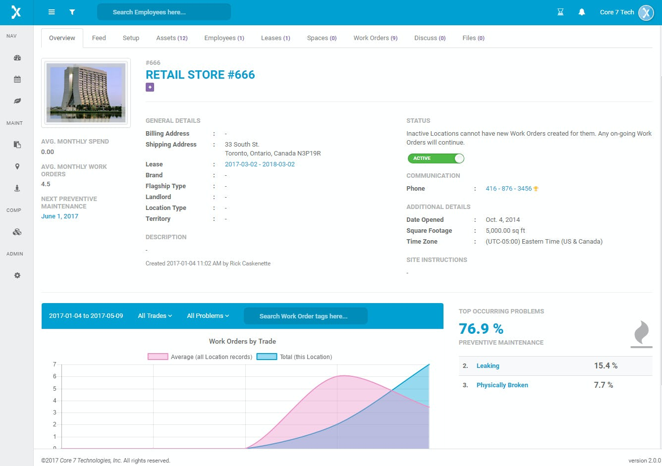 Officetrax Facilities Software - Overview
