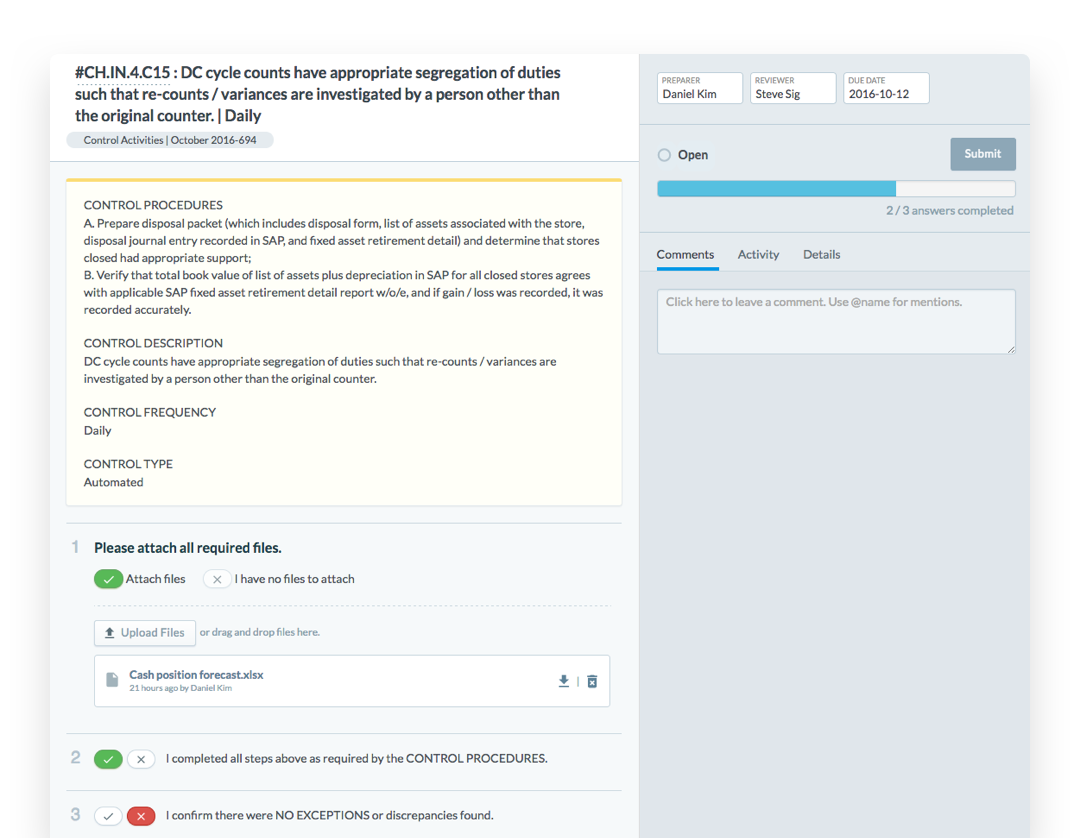 Define custom fields and automate workflows