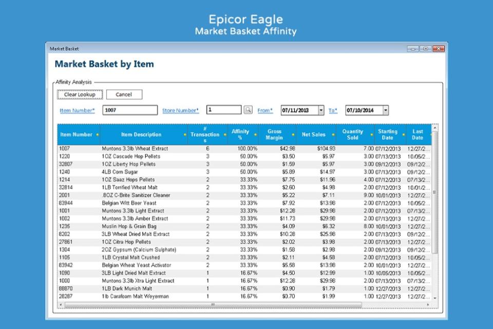 Epicor Retail Solutions Logiciel - 3