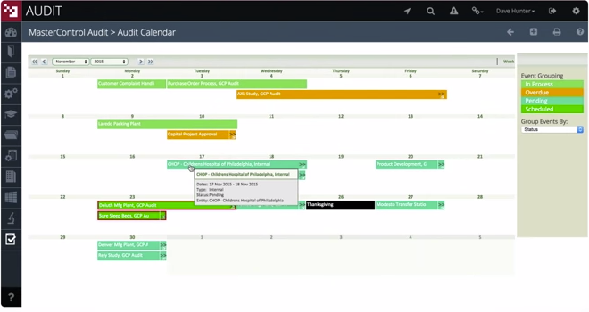 Simple drag-and-drop calendar for avoiding scheduling conflicts