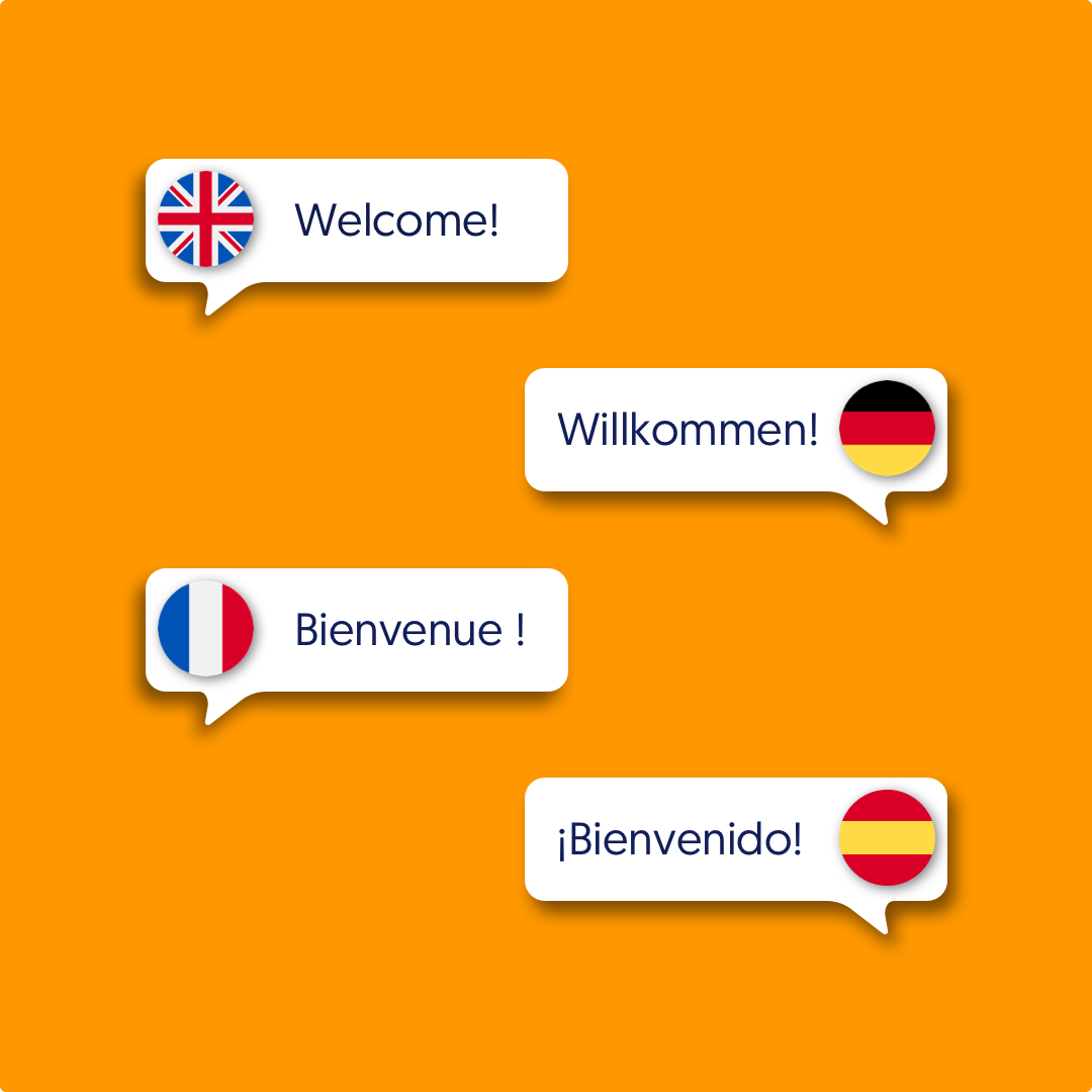 Multi-language. Reach all of your guests, no matter where they are. Automatically translate your website in more than 70 languages.