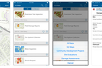 Captura de tela do ArcGIS: Collector for ArcGIS is a companion mobile app for iOS and Android that supports the remote collection and update of data using the map or GPS