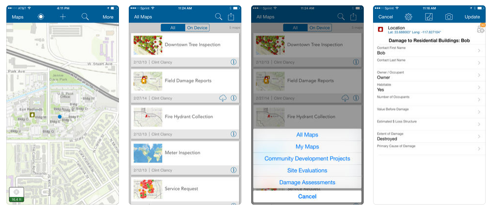 Collector for ArcGIS is a companion mobile app for iOS and Android that supports the remote collection and update of data using the map or GPS