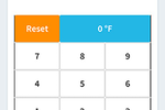 FreshCheq screenshot: During checks users can input measurements using the number pad