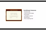 Captura de pantalla de Expo Logic: Expo Logic's LMS offers certification features