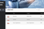 Communication Centers screenshot: Communication Centers document management