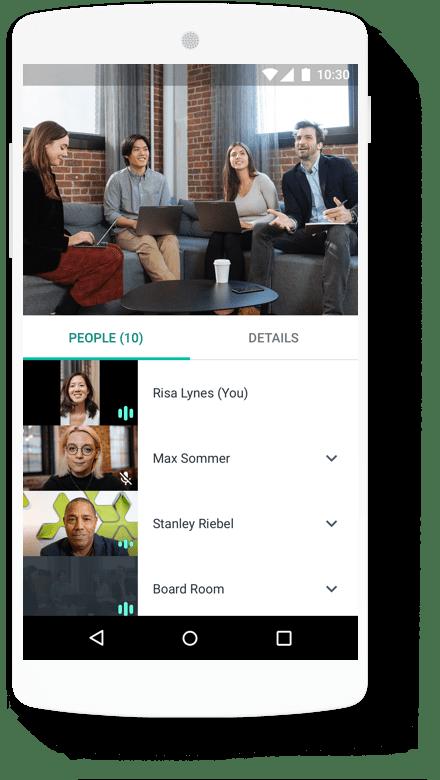 Google Workspace participants