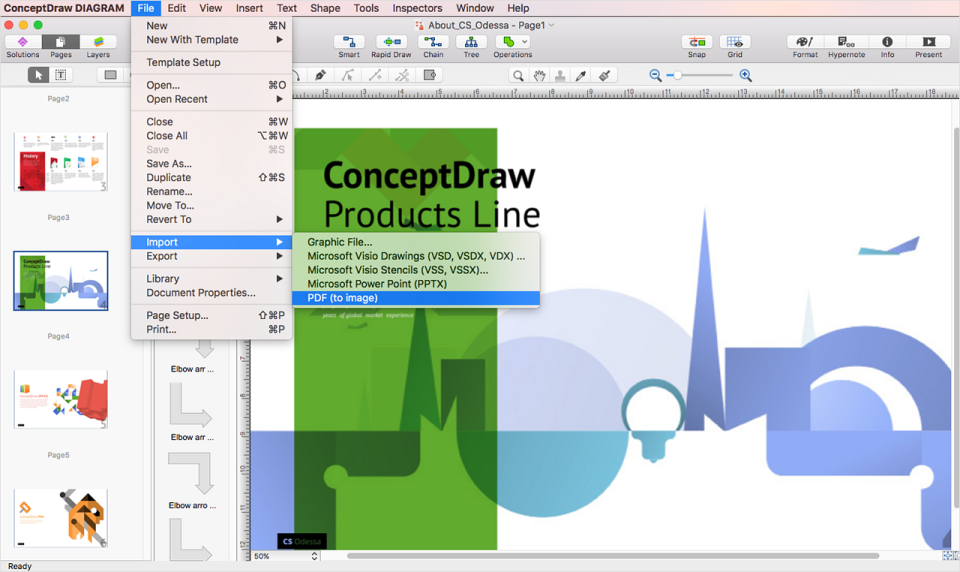 ConceptDraw PRO Software - 3
