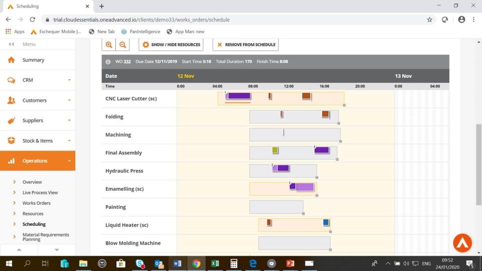 Business Cloud Essentials Software - Operations