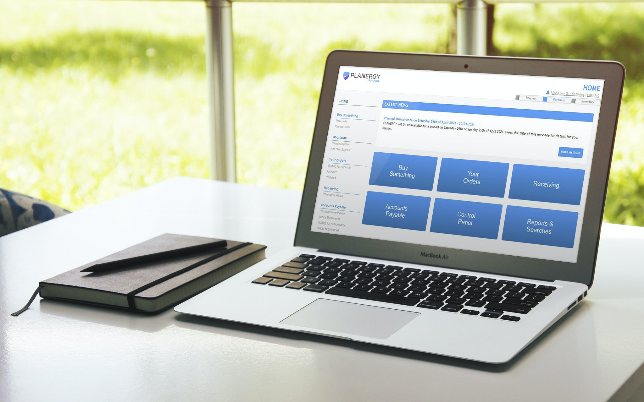 Planergy Software - You can use all of our features from anywhere on any device with an internet connection.