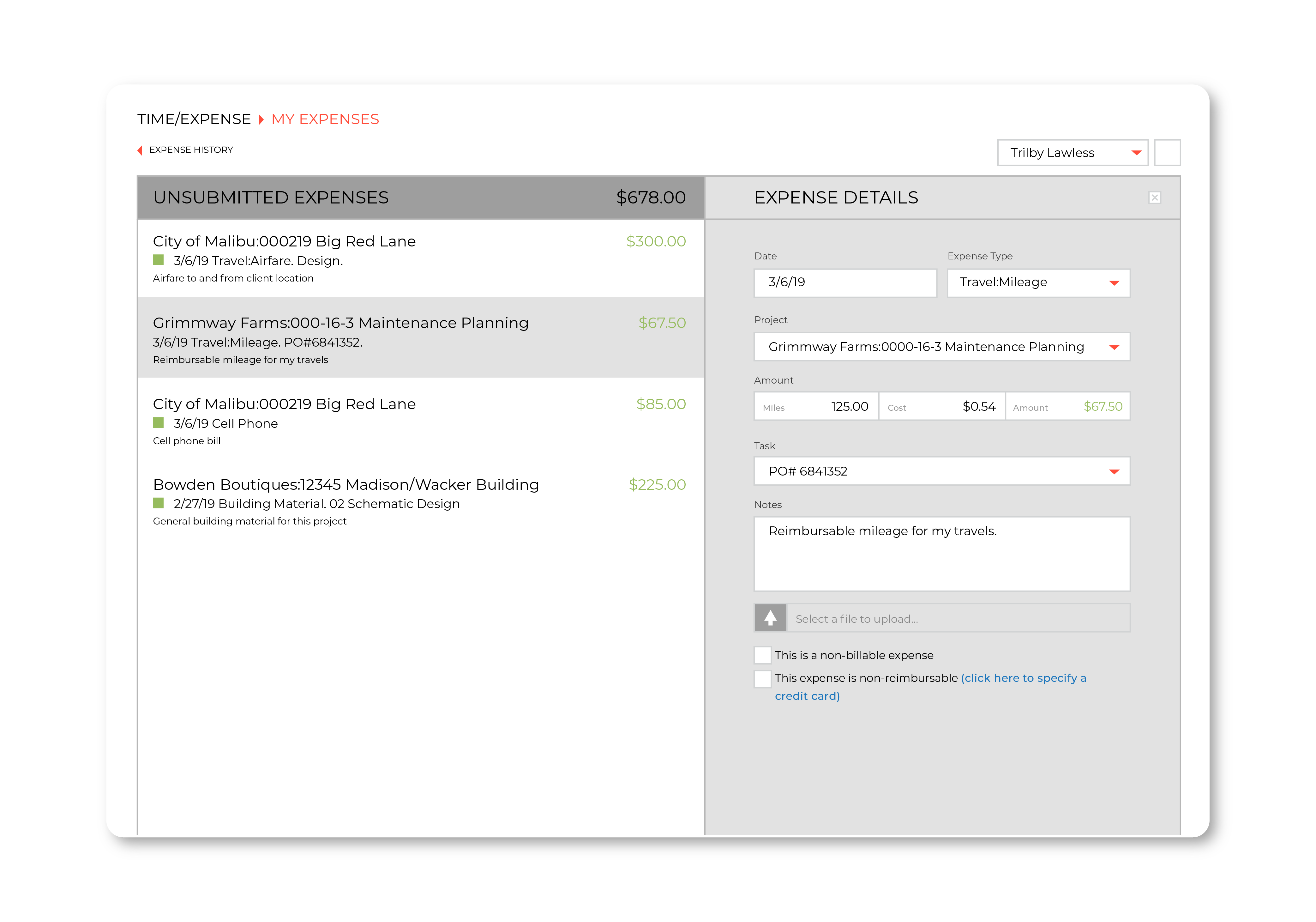 Submit and approve expenses with ease