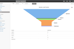 Influx MD screenshot: Reports can be generated to provide users with insight into lead interaction
