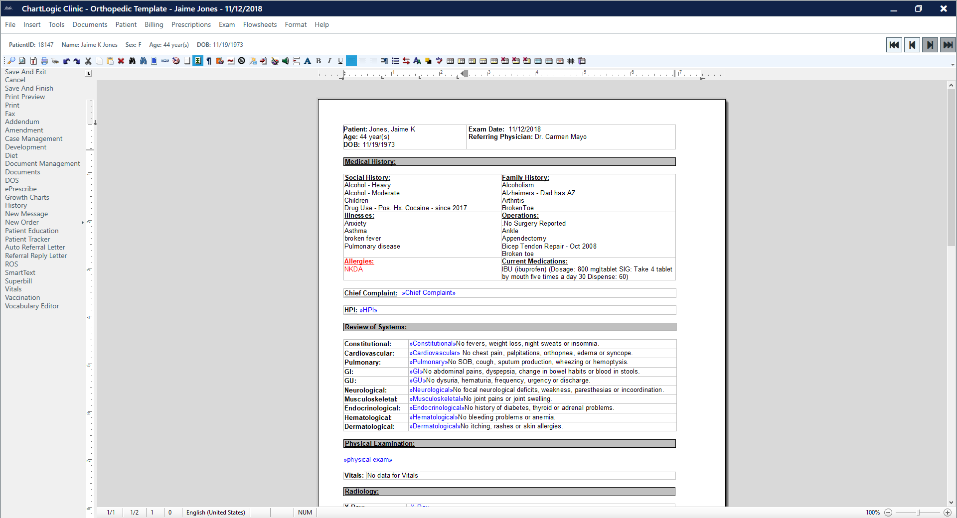 ChartLogic EHR Software - 2