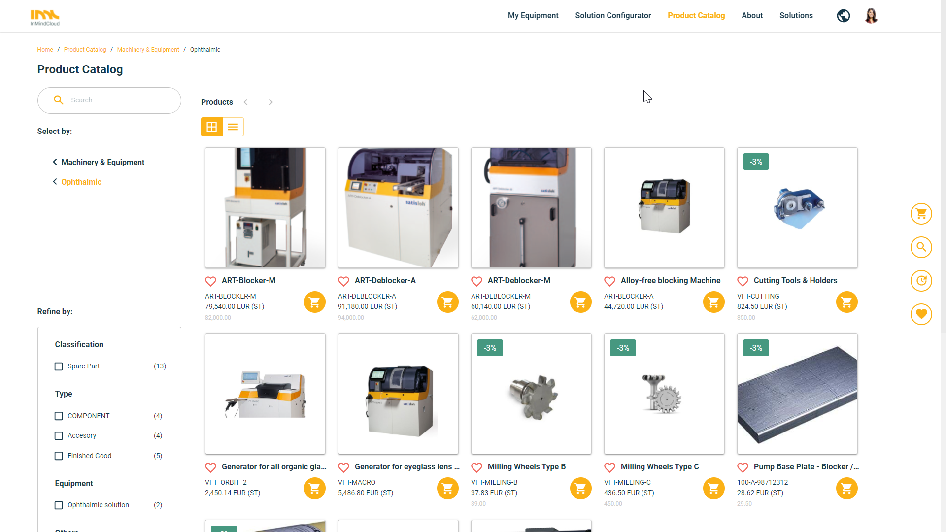 CPQ & Commerce for Manufacturers - Product-Service Catalog & Smart Selling