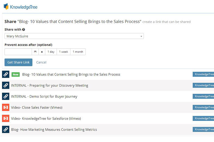Accelerate sales with winning content
