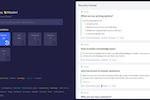 OneBar screenshot: OneBar knowledge search