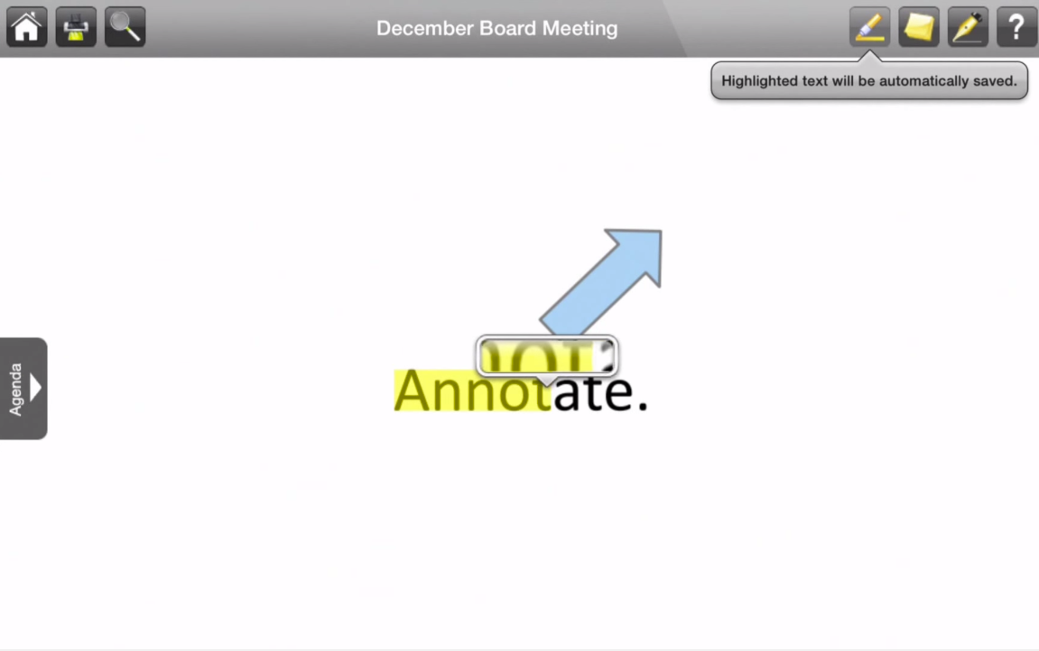 Add annotations to documents