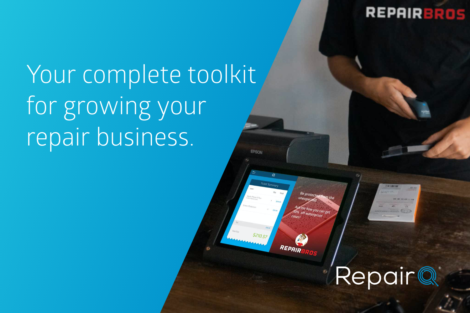 Your complete toolkit for growing your repair business.