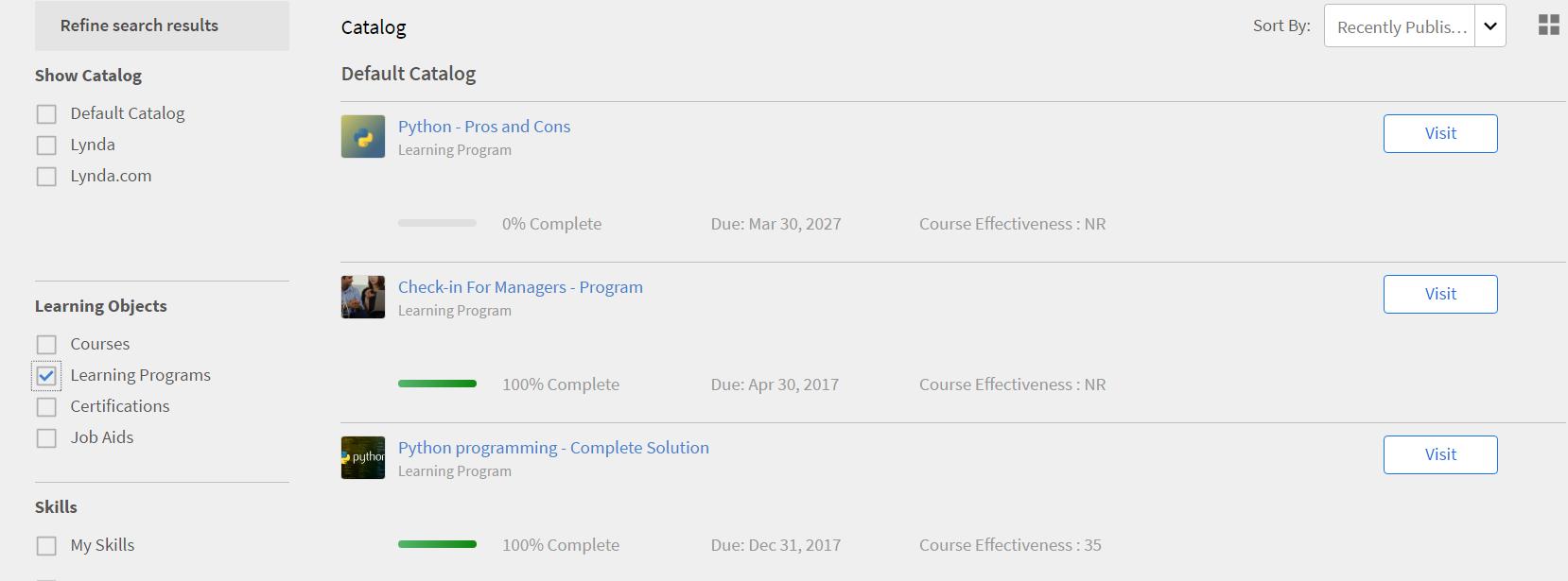 Adobe Captivate Prime Software - Adobe Captivate Prime - Learning programs