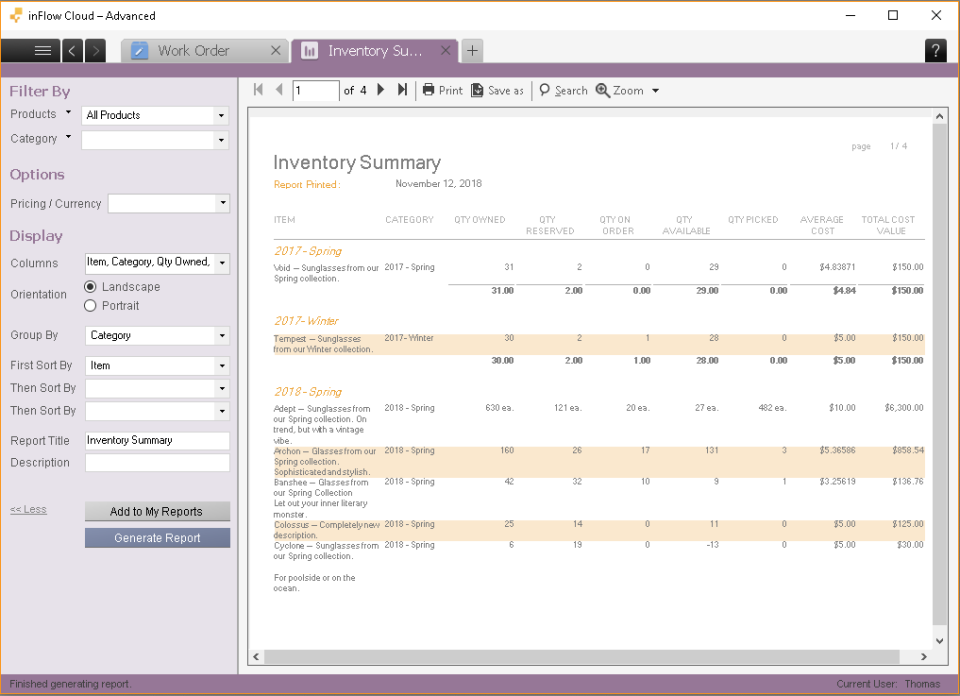 inFlow Inventory Software - 3