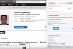 Capture screenshot: Capture can work with structured sites such as social networks